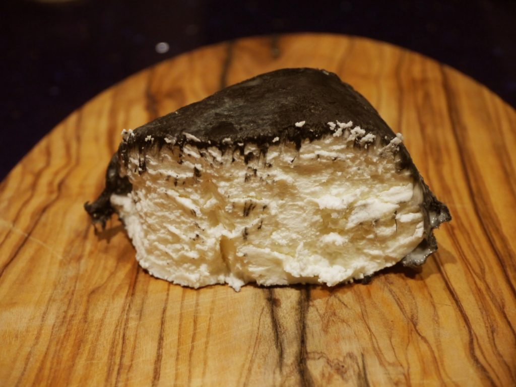 goats cheese from france light fluffy galet d'albatre