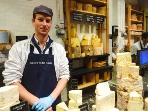 borough market cheese stalls christmas ideas presents dairy